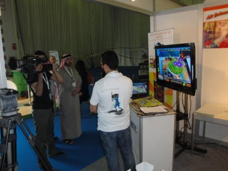 AMTC booth in Playworld Middle East