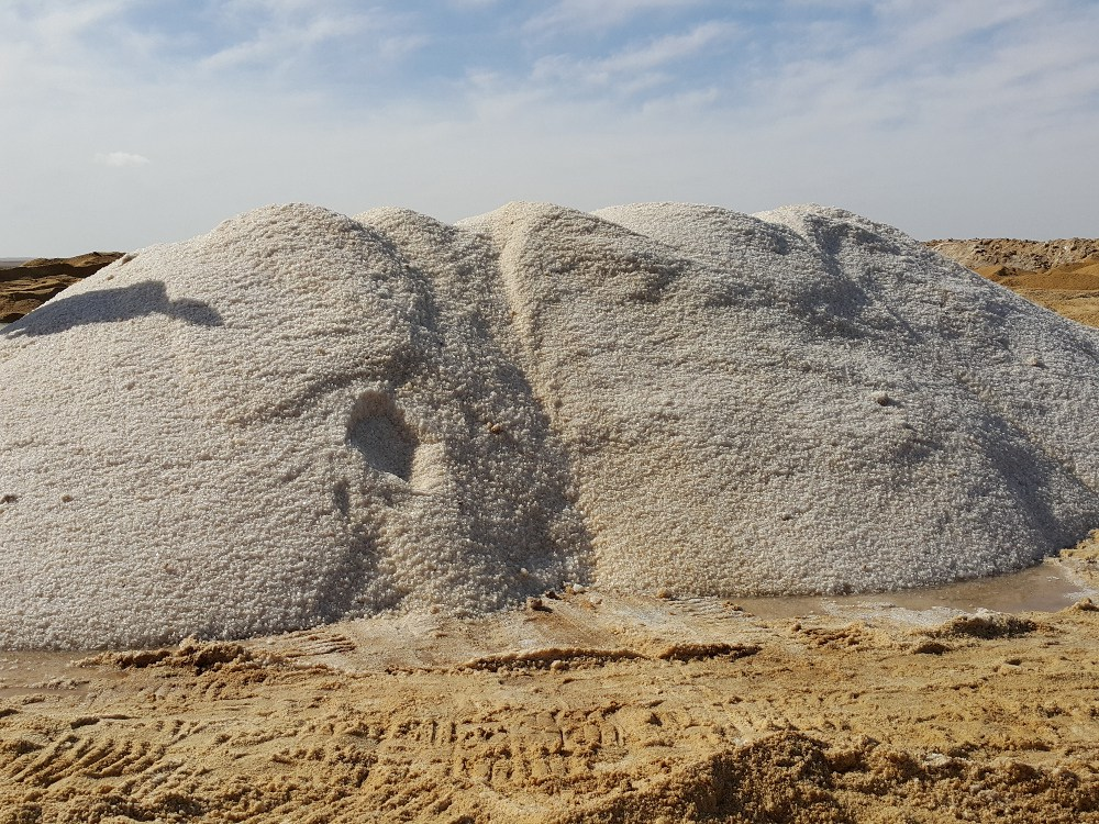 Deicing Salt from Egypt